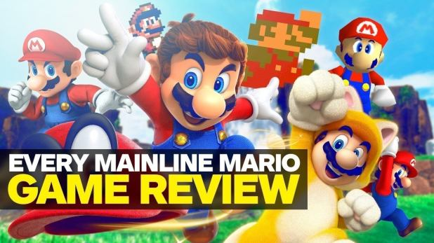 Mario is one of the most famous plumbers in gaming.  Rewrite your journey through every IGN review of a Mario platformer.  (We're saving Dr. Mario, Paper Mario RPG, and other spinoffs for another day.)