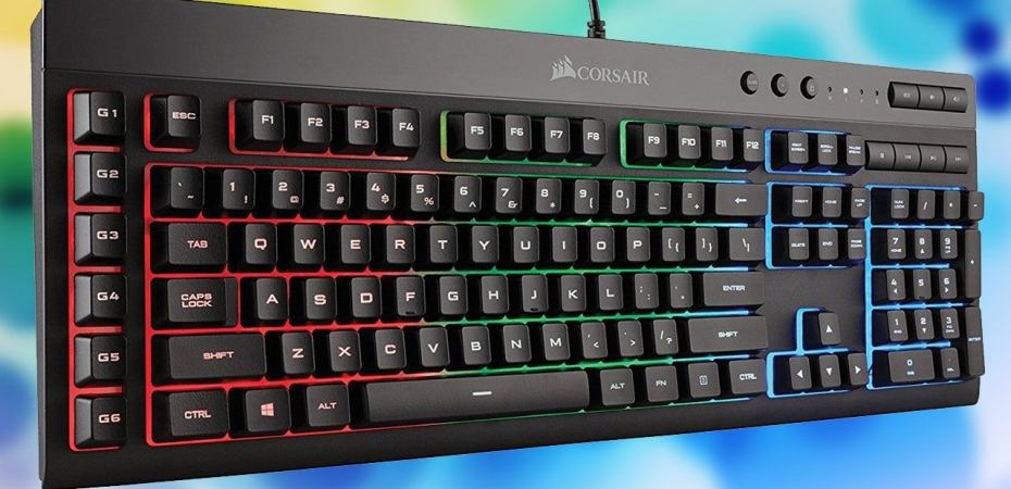 Corsair K55 RGB Gaming Keyboard Review – GameUP24