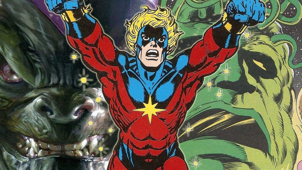 Captain Marvel How The Classic Kree Skrull War Story