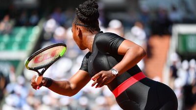 Tennis Icon Serena Williams Wears Wakanda Inspired