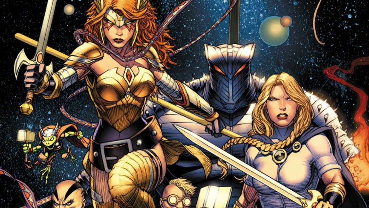 Marvel Reveals Asgardians Of The Galaxy Team Roster IGN