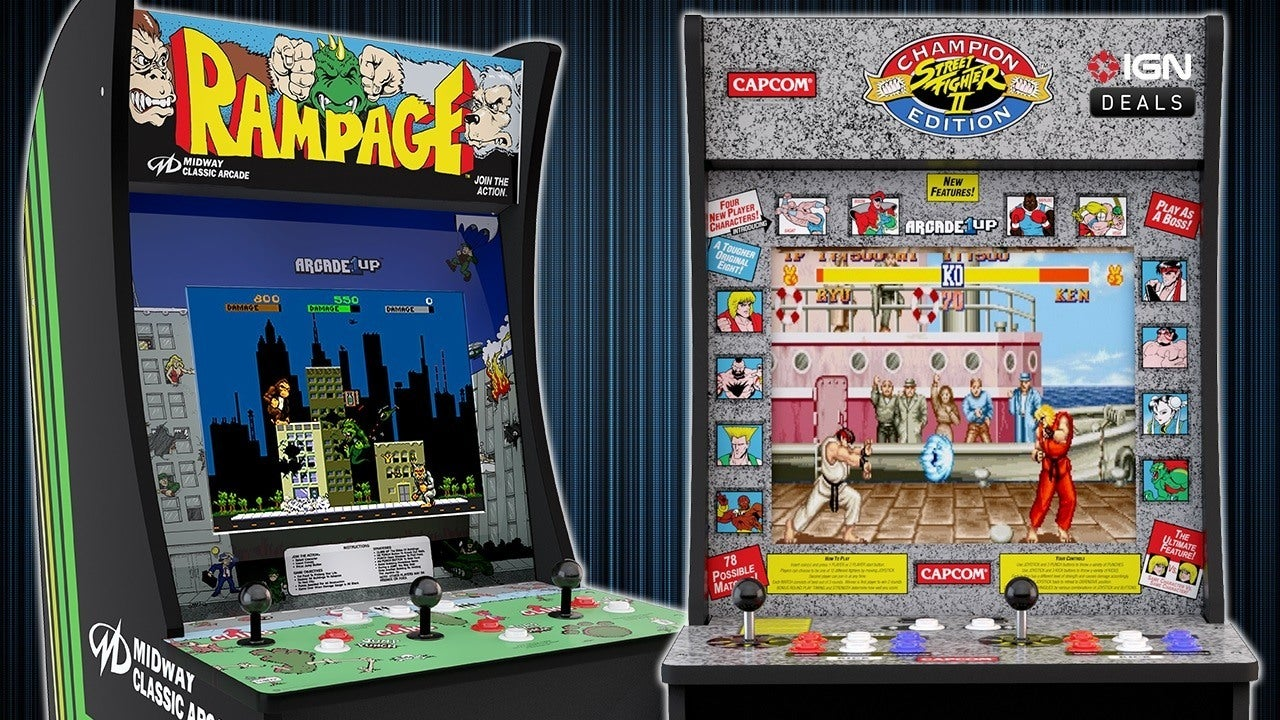 Daily Deals 100 Off Street Fighter Rampage Centipede And Asteroids Arcade Cabinets IGN