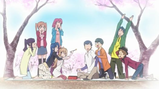 """For those who want something a little lighter and more comedic, Toradora! is probably your best bet. Anime is full of school romantic comedies, but none of them do it quite as well as this show. The setup is standard fare, following the typical motions of """"boy and girl don't seem to get along, but eventually fall for each other."""" What makes Toradora! stand out from the rest is how well it executes this story. It's fully aware that it's a romantic comedy starring high schoolers, but instead of trying to go beyond the genre, it embraces it. As a result, it focuses on building these characters into relatable and realistic ones that will make you care about them. <br><br> Toradora! is not groundbreaking material like other titles on this list, but it ranks as one of our essential animes because of how fun and engaging it is in its execution of a more traditional anime high school romcom. If you're looking for a story that'll make you cry, laugh, and fall in love with these whimsical characters, you've hit the right spot: Toradora! offers that and more, and years later, it's still held as one of the best romantic comedies in anime."""
