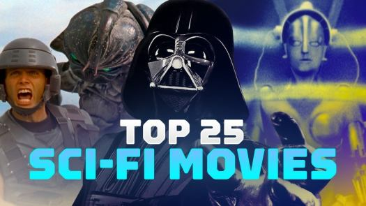Blade Runners, Body Snatchers, Terminators and T-Rexes -- these are the 25 best sci-fi films of all time.