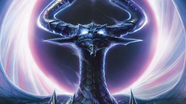 Image result for nicol bolas art dragon god