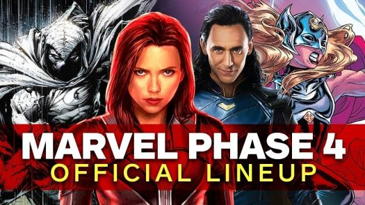 Here's everything that's been announced for the MCU's Phase 4 so far. Note - with Disney continuing to respond to the effects of the COVID-19 pandemic, many of these release dates are subject to change.