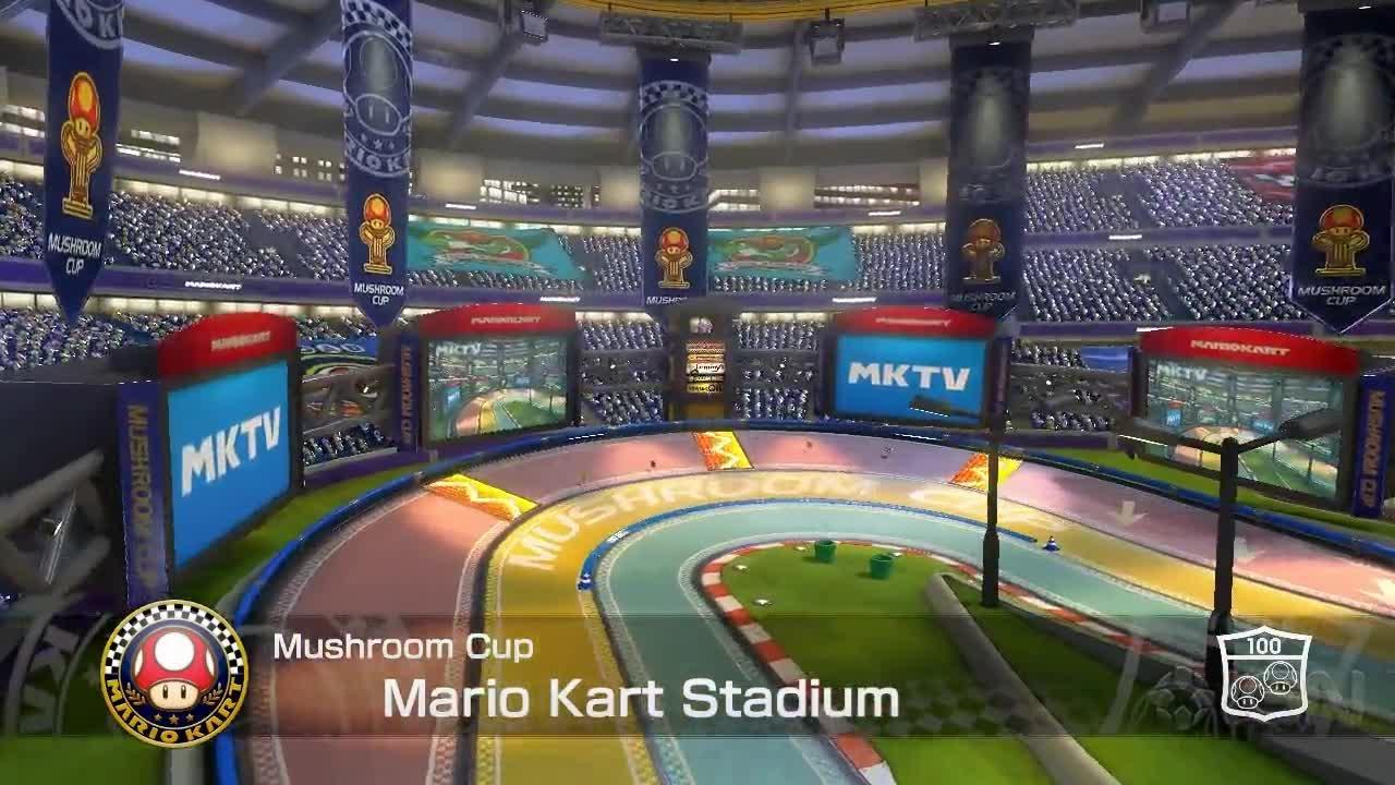 Mario Kart 8 The Fastest Path Mario Kart Stadium IGN Video