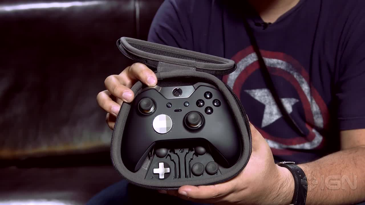 Xbox One Elite Controller Unboxing IGN Video