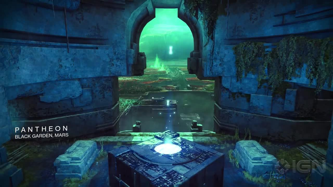 Destiny Rise Of Iron Pantheon Crucible Dead Ghost Collectible Destiny IGN Video