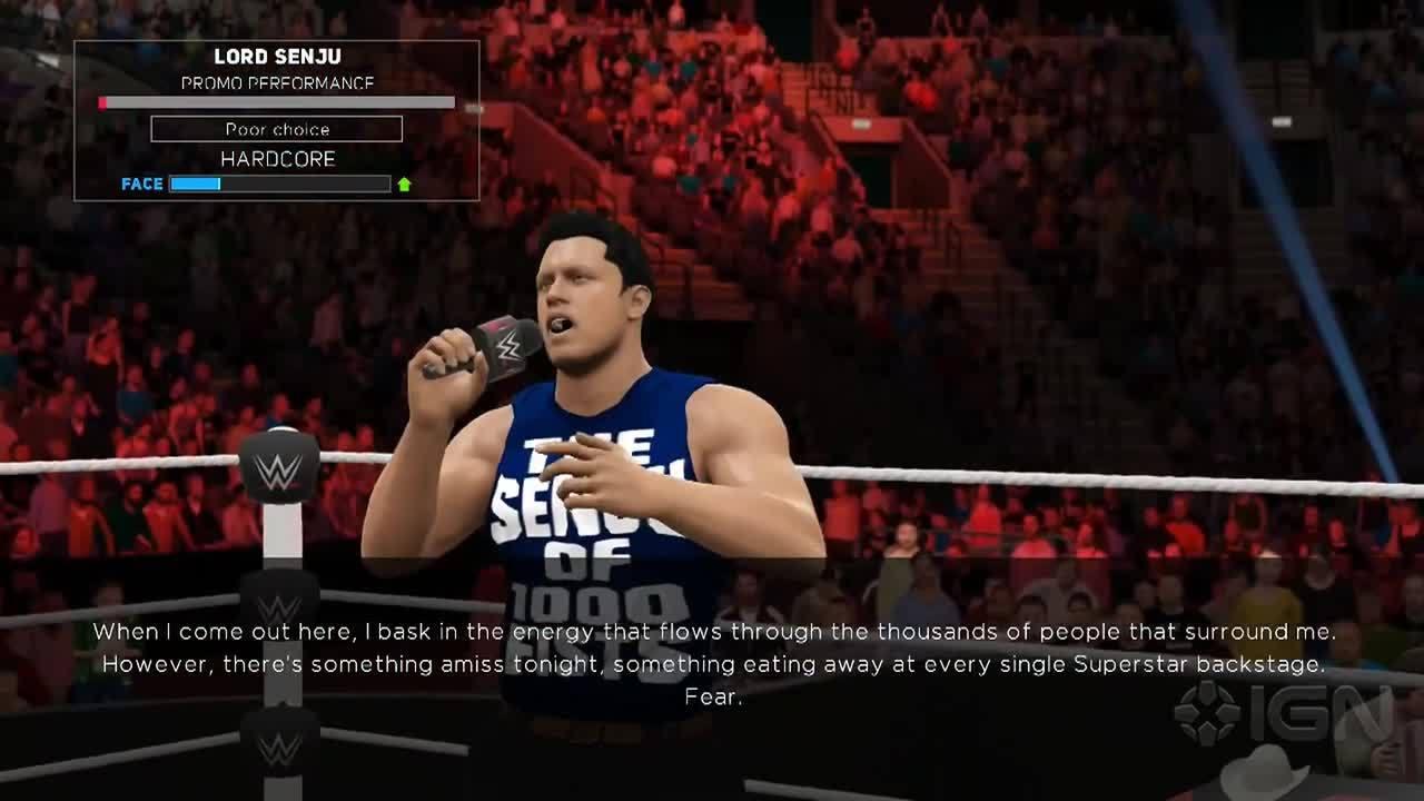 Cutting A Good Promo WWE 2K17 IGN Video