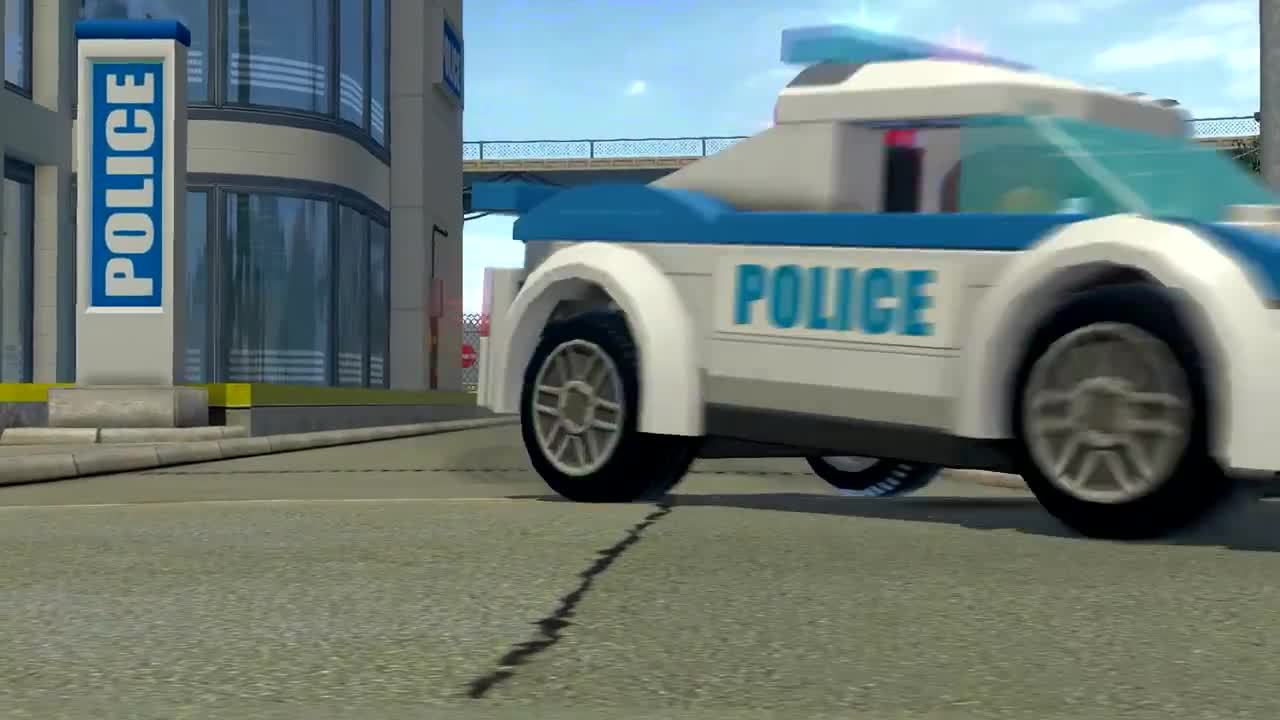 LEGO City Undercover Vehicles Trailer IGN Video