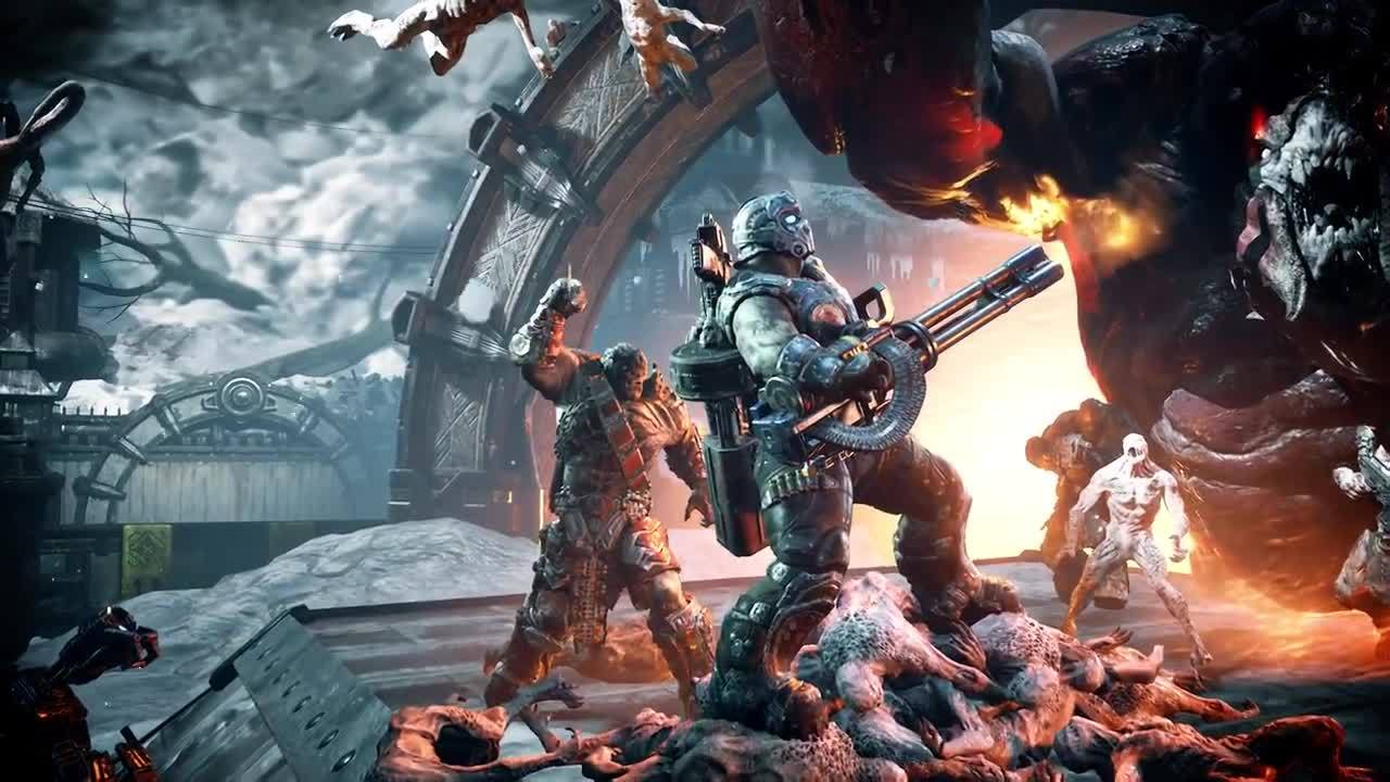 Gears Of War 4 Rise Of The Horde Official Trailer IGN