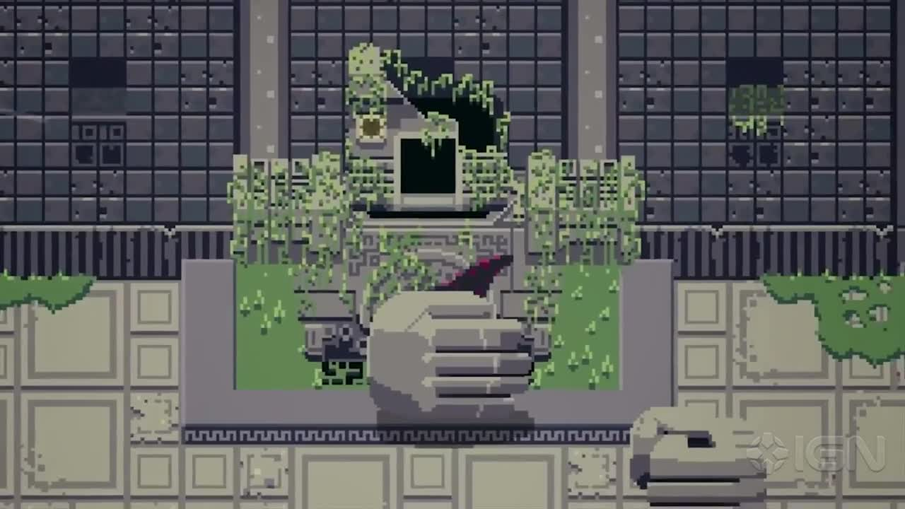 Titan Souls Beautifully Pixelated Gameplay PAX South 2015 IGN Video