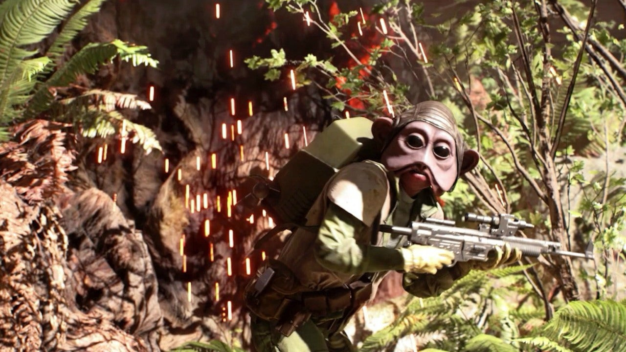 Star Wars Battlefront Alien Skins Showcase IGN Video