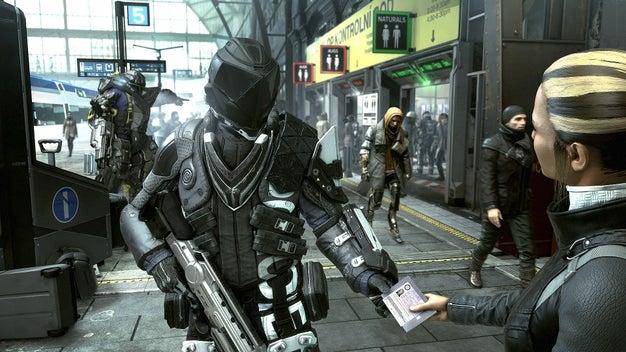 Polícia em Deus Ex Mankind Divided