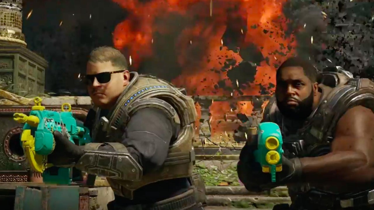 Gears Of War 4 Official Run The Jewels Air Drop Trailer IGN Video