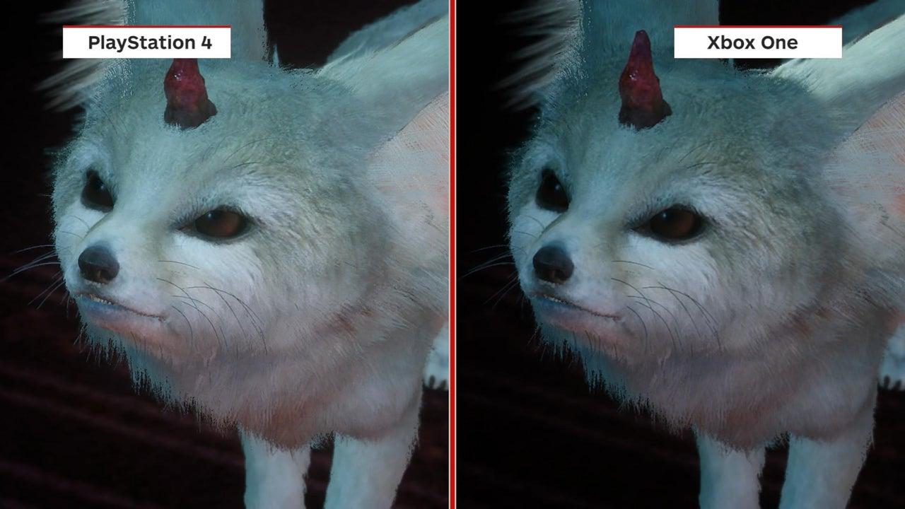 Final Fantasy XV Demo Graphics Comparison PS4 Vs Xbox One