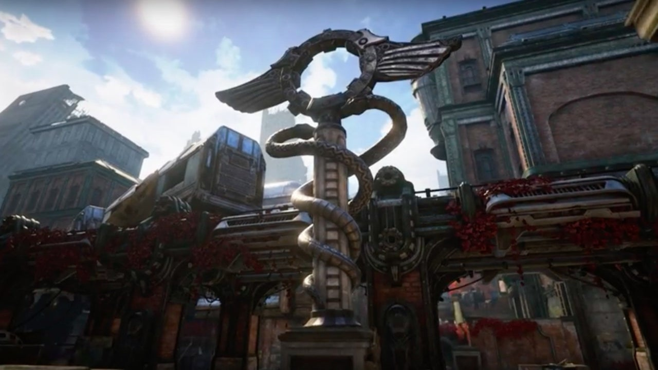 Gears Of War 4 Official Blood Drive Multiplayer Map