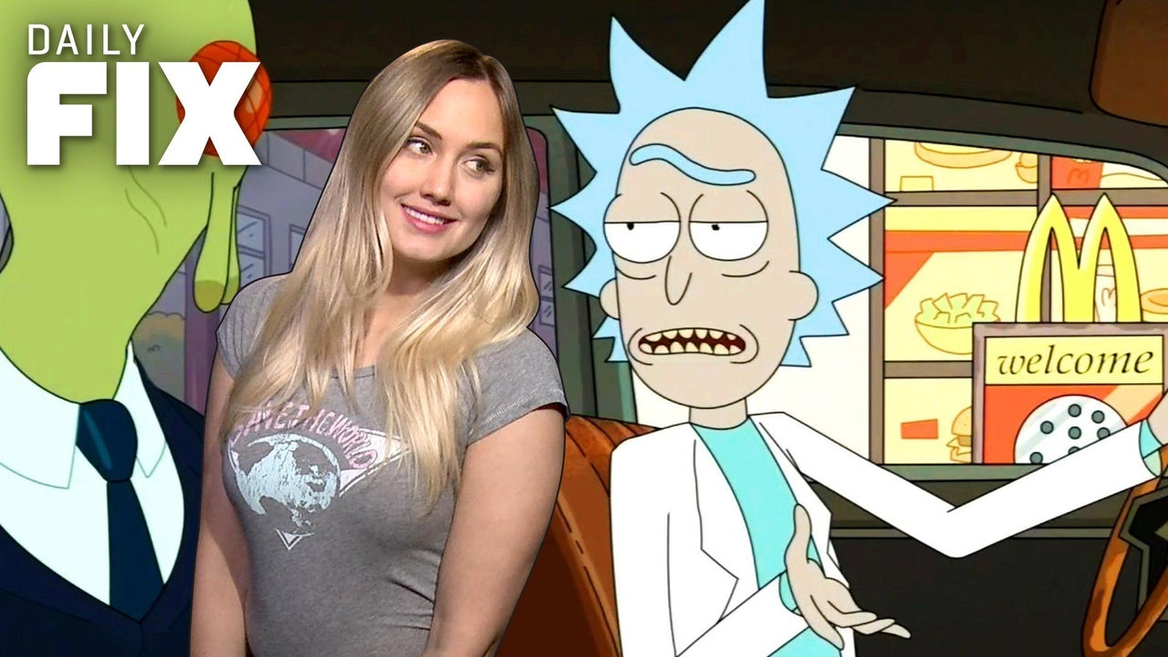 Rick And Morty Spoke McDonalds Listened IGN Daily Fix