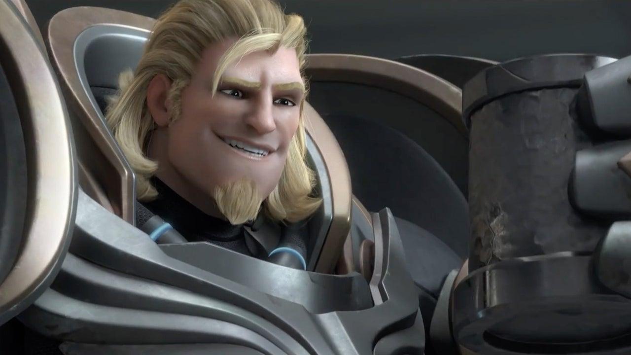 Overwatch Reinhardt Animated Short Honor And Glory IGN