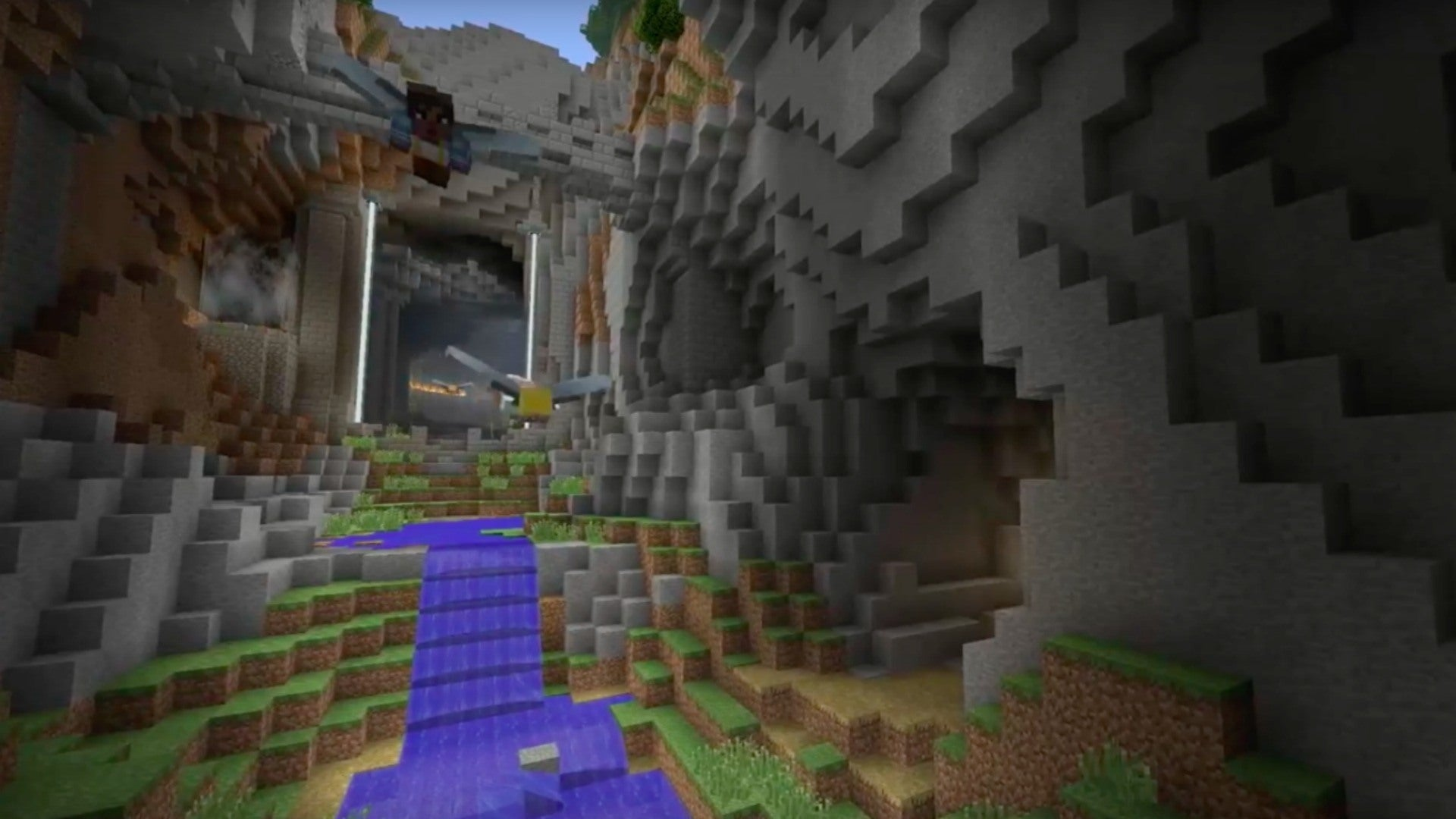 Minecraft Official Glide Mini Game Trailer