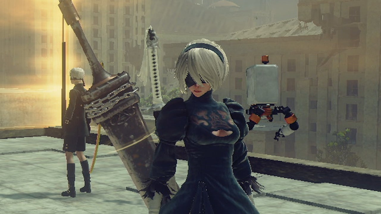 Nier Automata All 4 Weapon Types In Action IGN Video