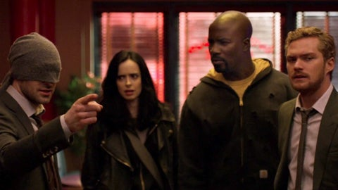 Image result for marvels the defenders