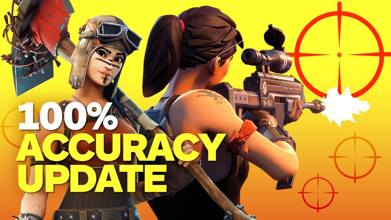 100 Accuracy Update In Fortnite Battle Royale Explained