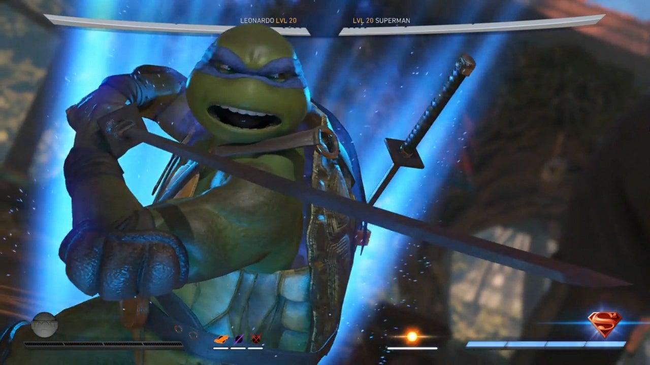 Injustice 2 Teenage Mutant Ninja Turtles Gameplay