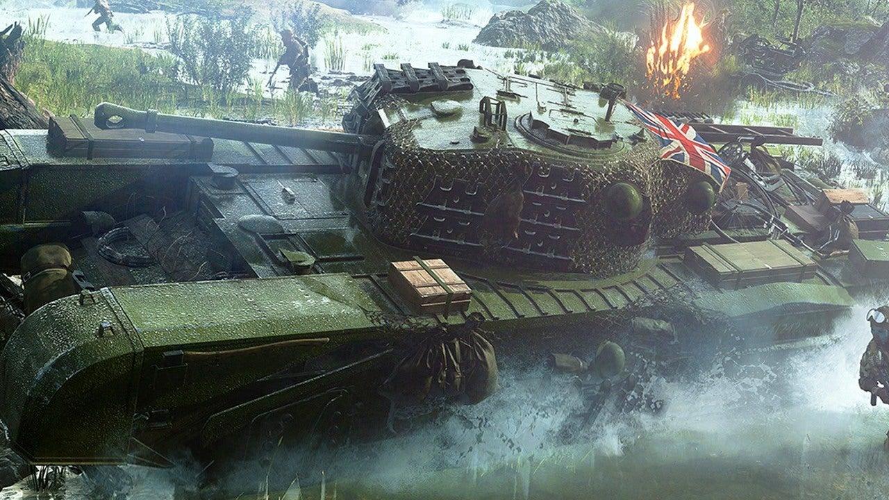 4 Minutes Of Battlefield 5 Tank Gameplay On Rotterdam