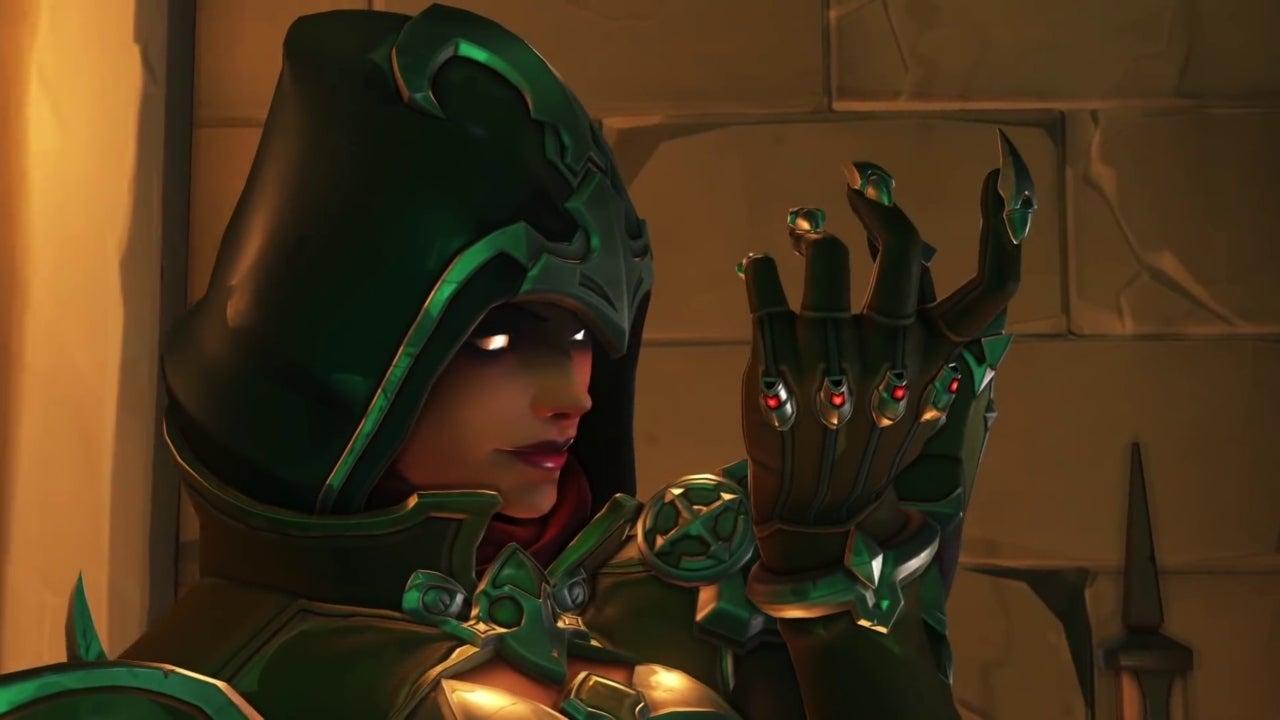 BlizzCon 2018 Virtual Ticket Overwatch Demon Hunter Sombra Legendary Skin