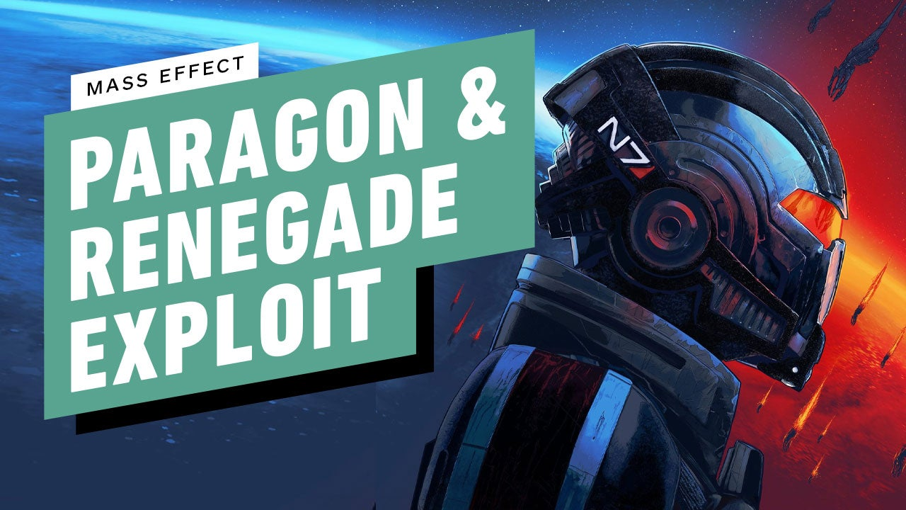 Mass Effect 1 - Exploit to Max Out Your Paragon/Renegade