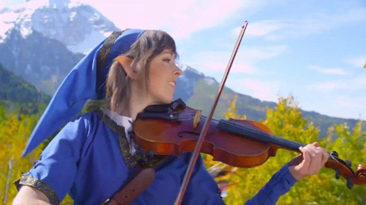 Lindsey Stirling Video Game Violinist Interview IGN Video