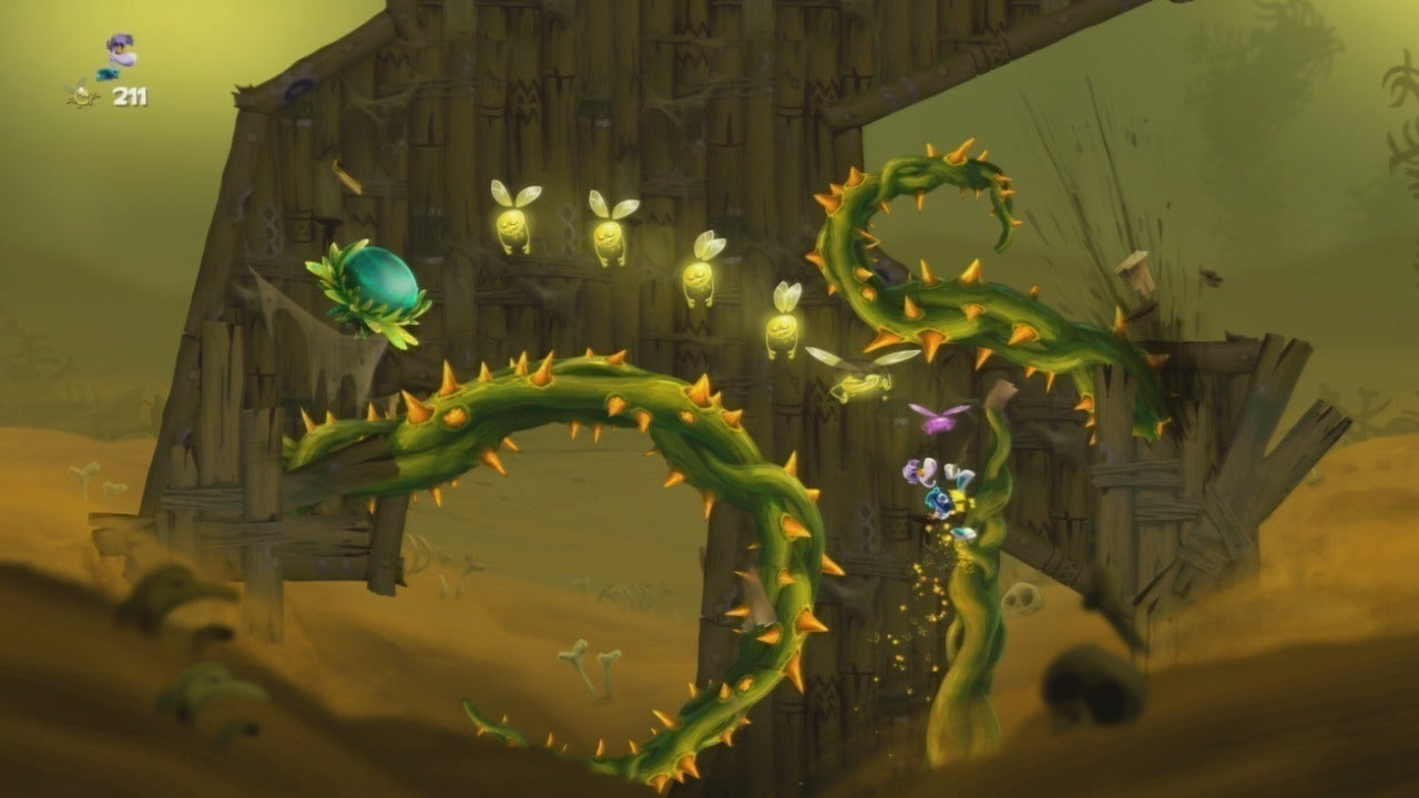 Rayman Legends Walkthrough Olympus Maximus Up Up And