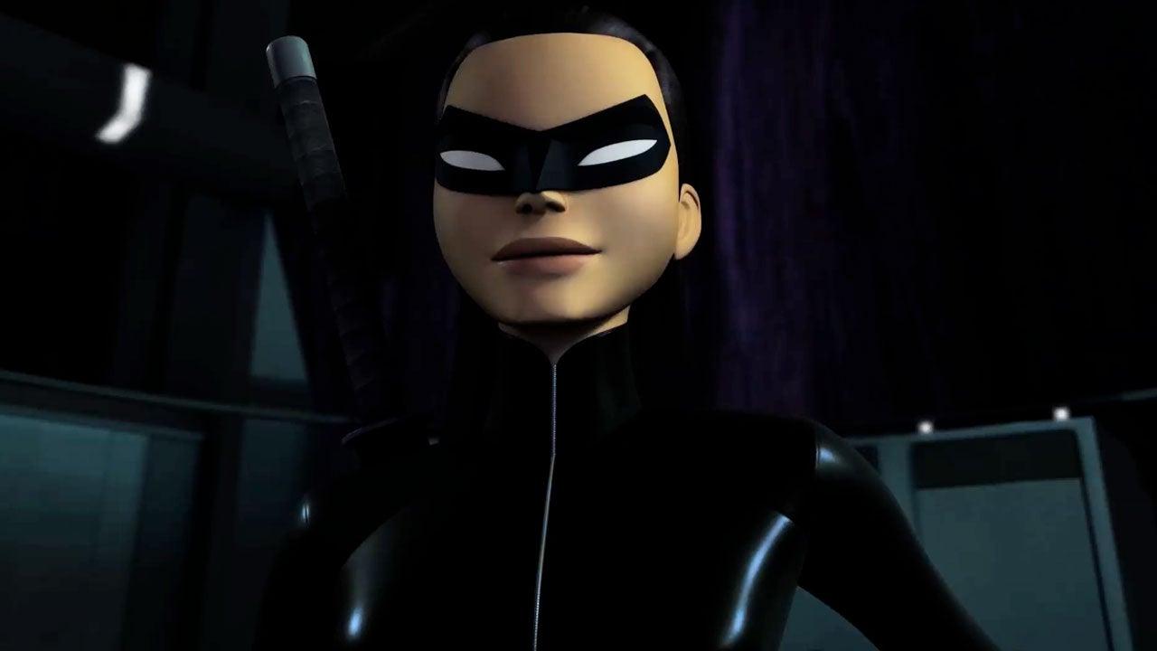 Beware The Batman Katana Suits Up IGN Video