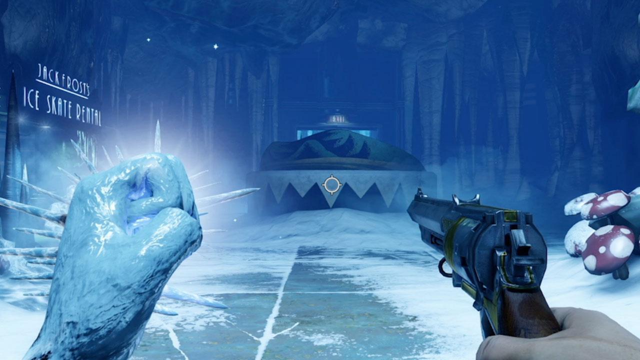 BioShock Infinites Old Man Winter Plasmid IGN Video