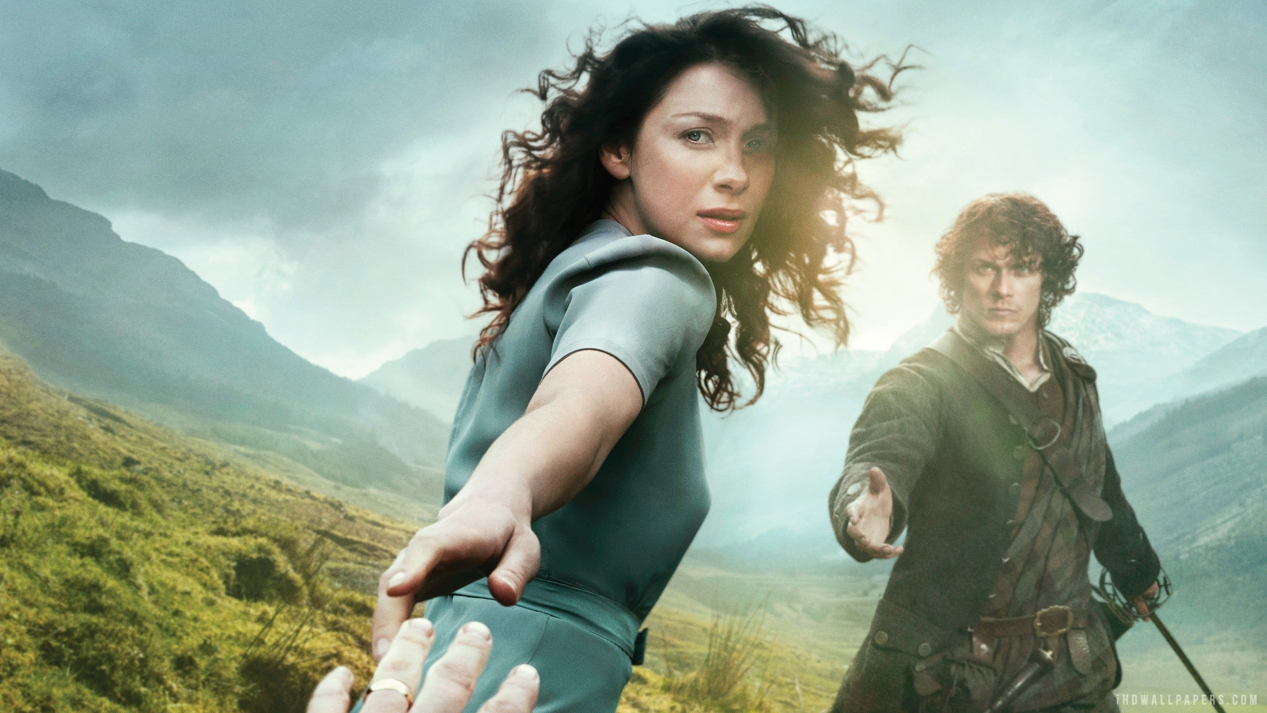 Talking Time Travel With The Cast Of Outlander Comic Con 2014 IGN Video