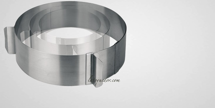 cercle a patisserie extensible inox