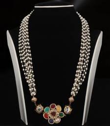 Buy indo western mala necklace-set online
