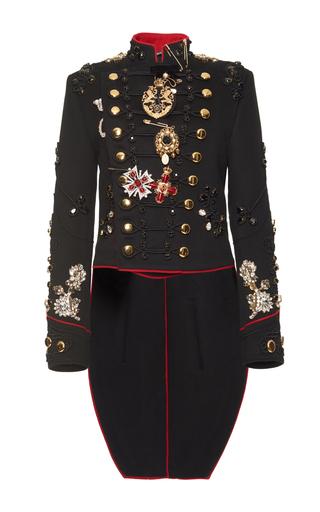 Embroidered Military Jacket By Dolce Amp Gabbana Moda Operandi
