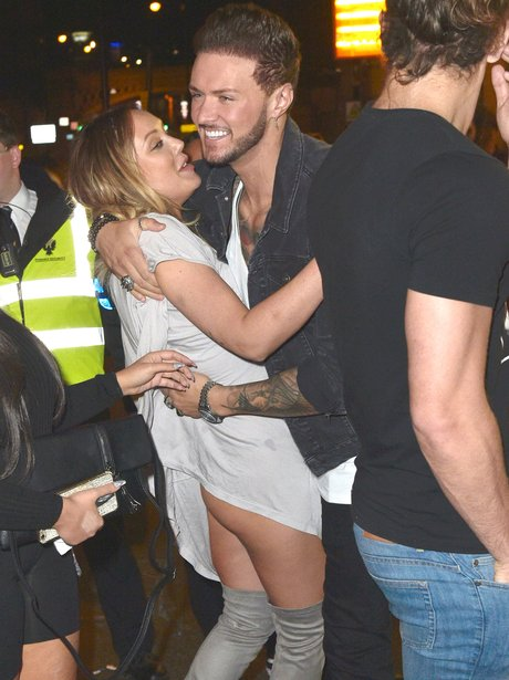 Charlotte Crosby has a wardrobe malfunction