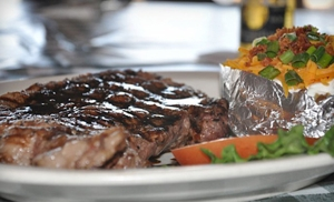 $12 for $24 Worth of Upscale American Fare at Hofbrau Steaks in Porter