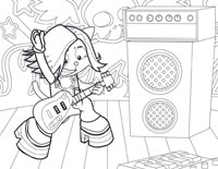 on stage coloring pages handipoints