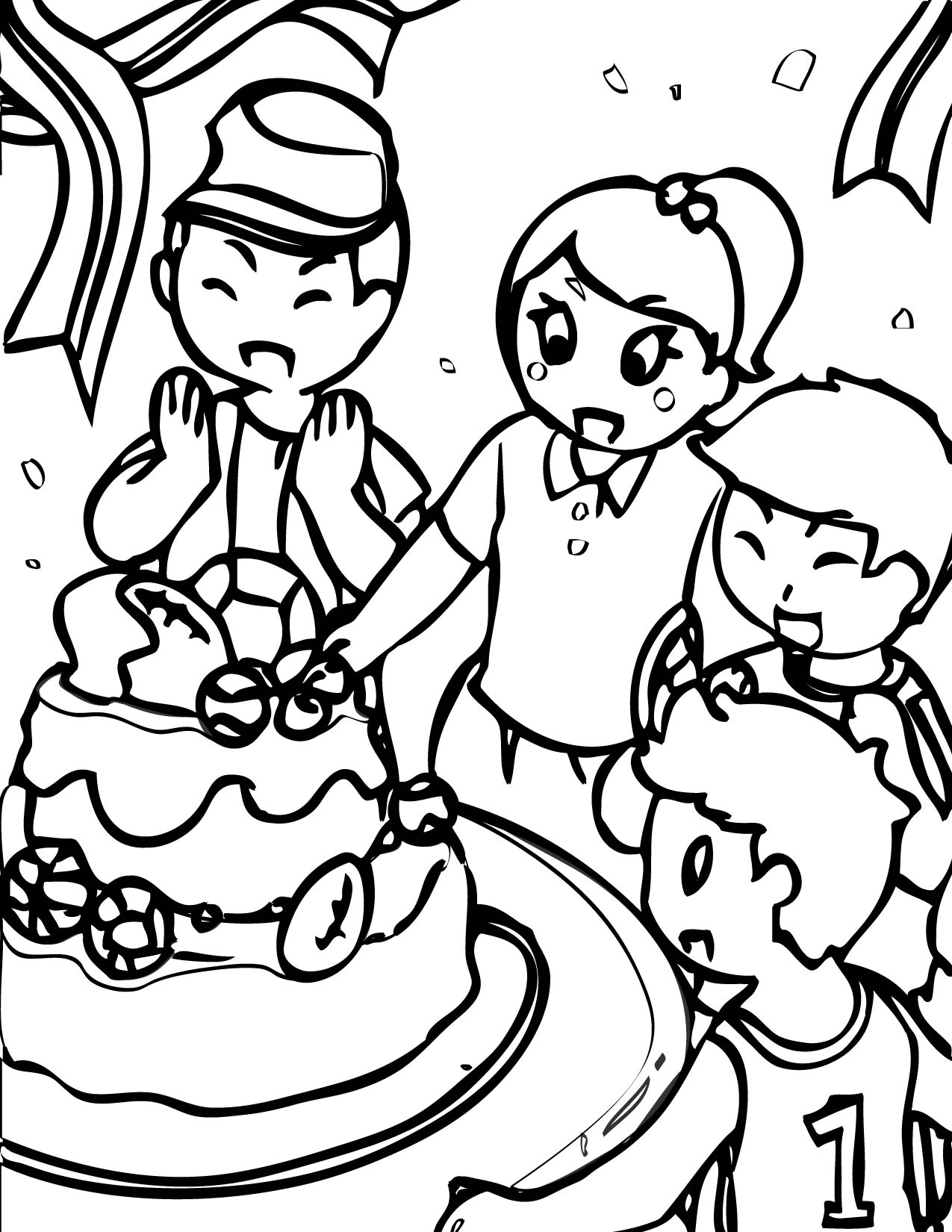 Calm Happy Fun Coloring Coloring Pages
