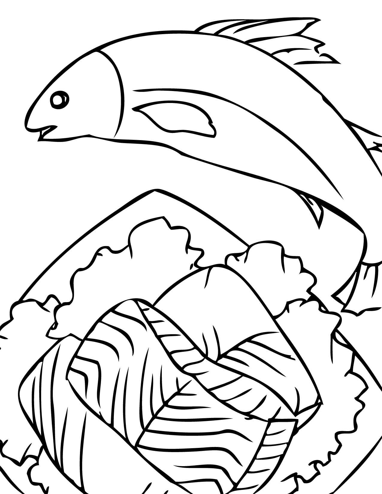 Cute Shrimp Coloring Pages Coloring Coloring Pages