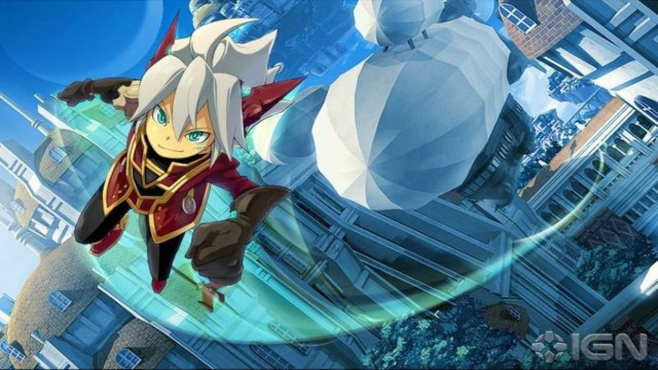 Rodea The Sky Soldier Headed West IGN