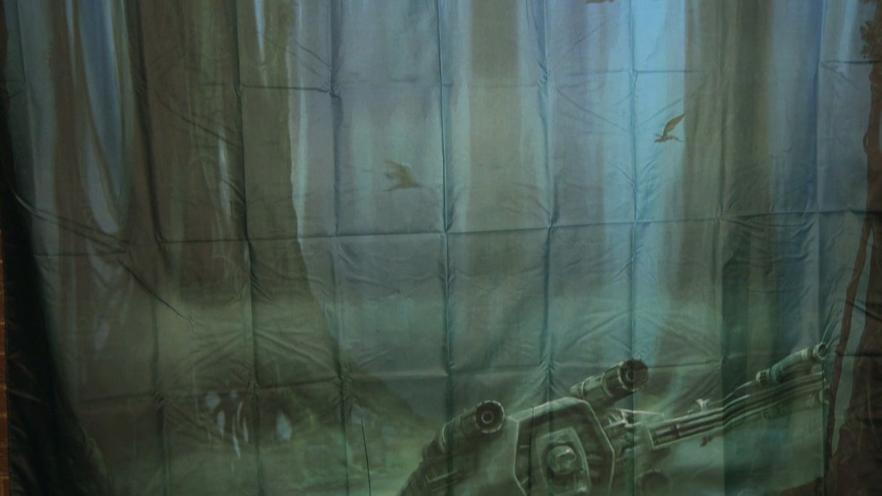 We Hang Up Star Wars Hand Towels And A Dagobah Shower Curtain IGN