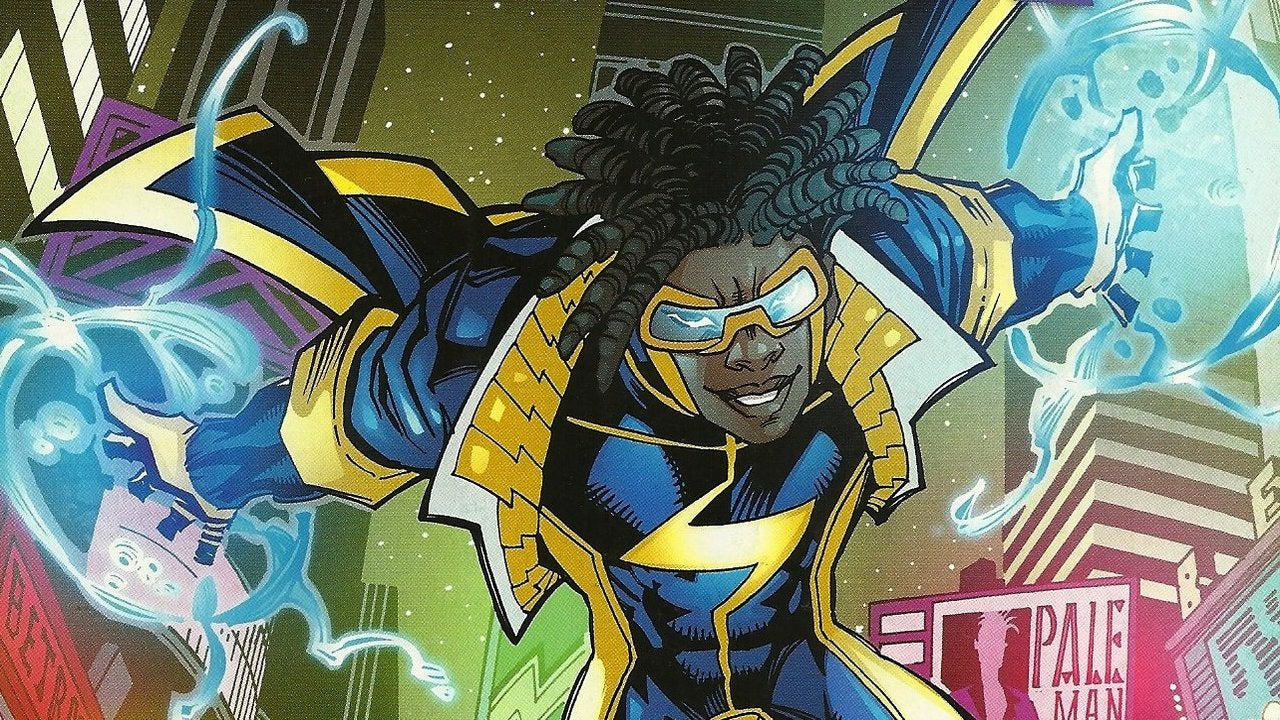 Image result for static shock comic