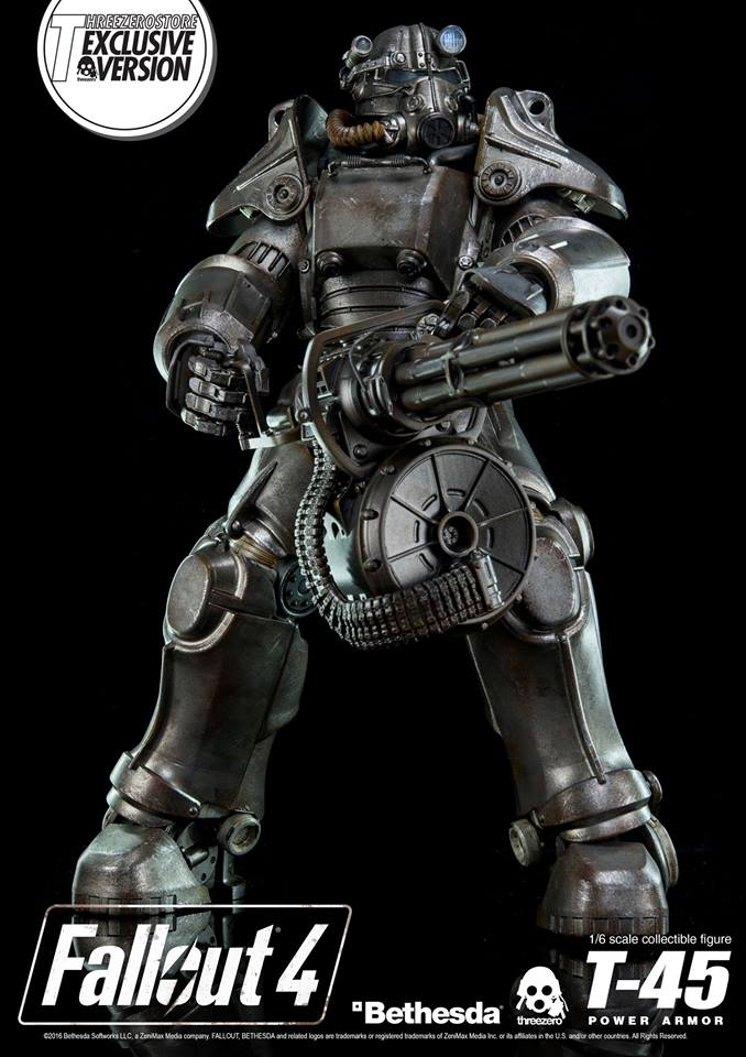 Fallout 4 T 45 Power Armor Figure Pre Order Begins Soon IGN