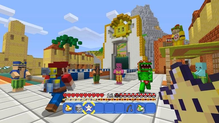 Minecraft The Ninty Times - Skins para minecraft wii u edition